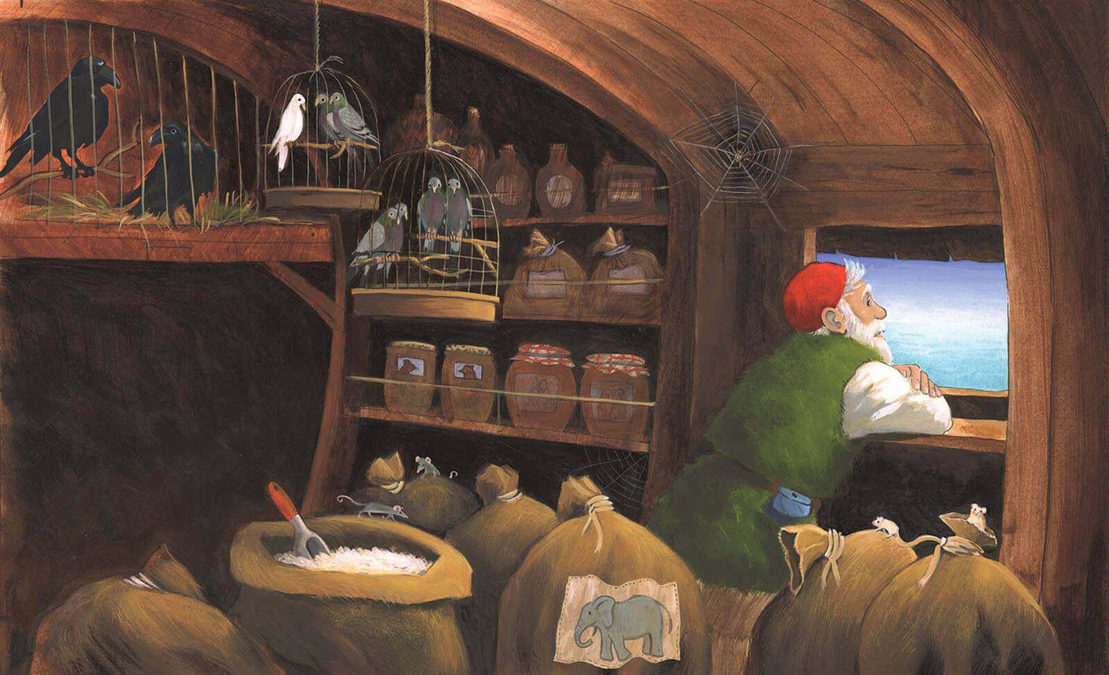 Prentenbijbel - Ark van Noach