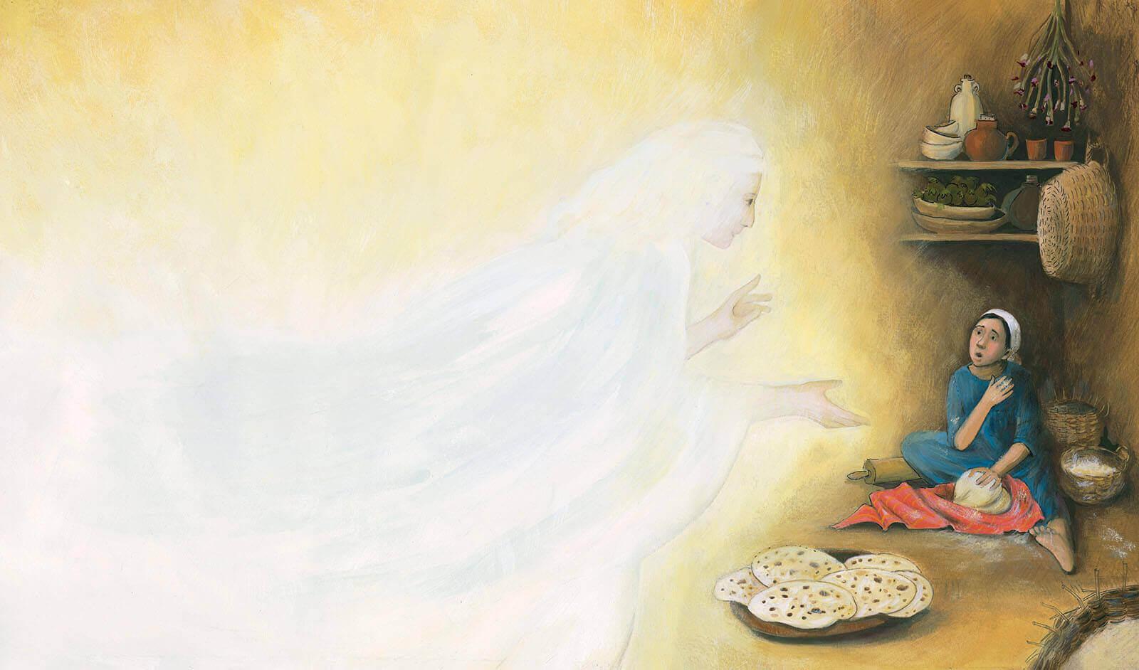 Prentenbijbel - Engel Maria