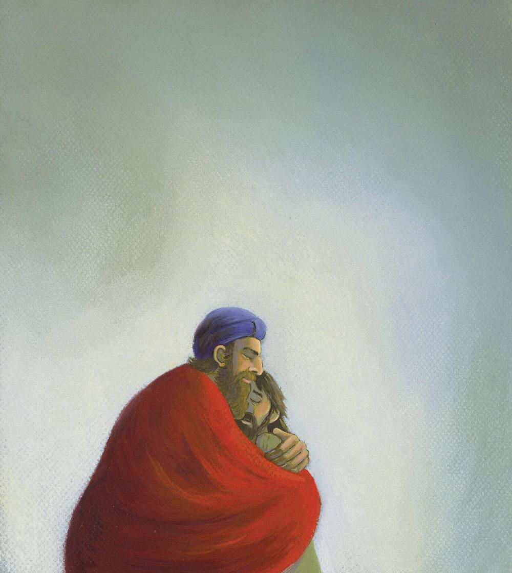 Prentenbijbel - Er komt een zoon thuis