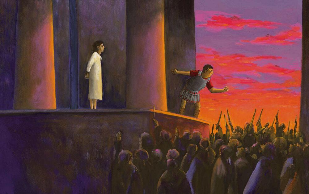 Prentenbijbel - Jezus wordt verraden