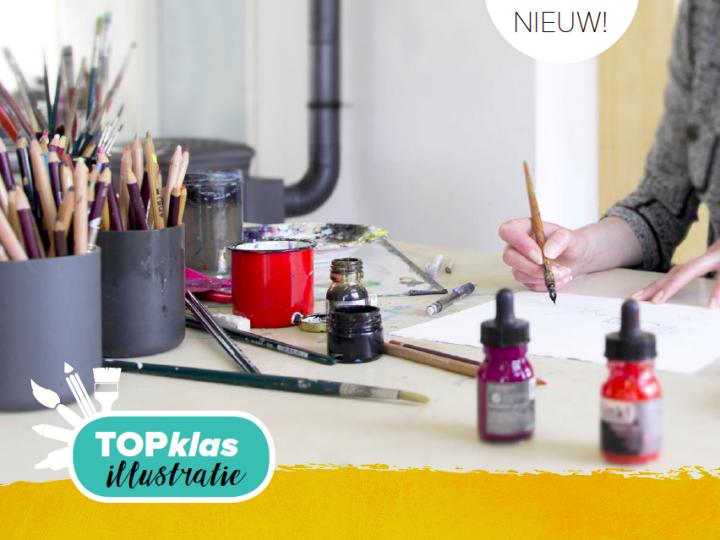 Vanaf November 2017: TOPklas illustratie