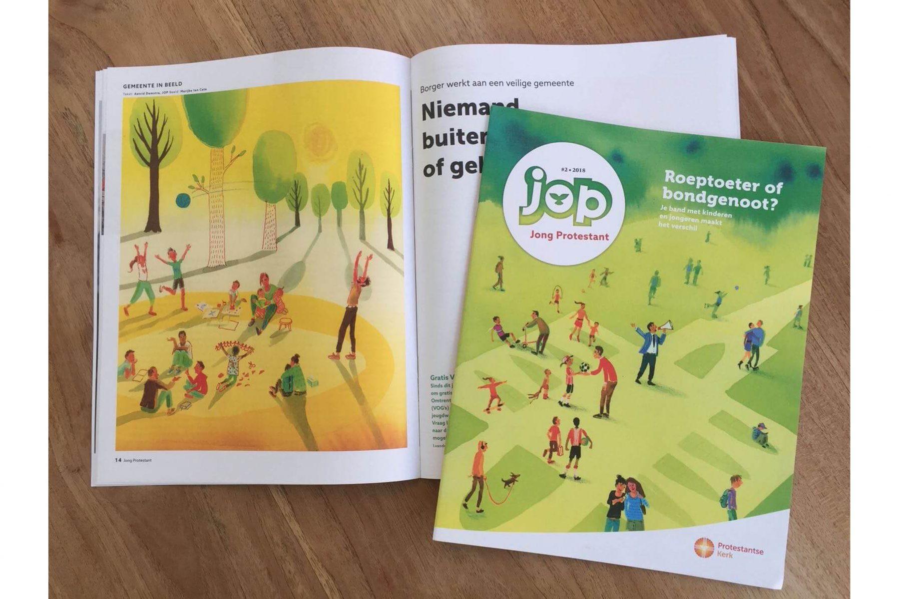 JOP cover en binnenwerk - April 2018