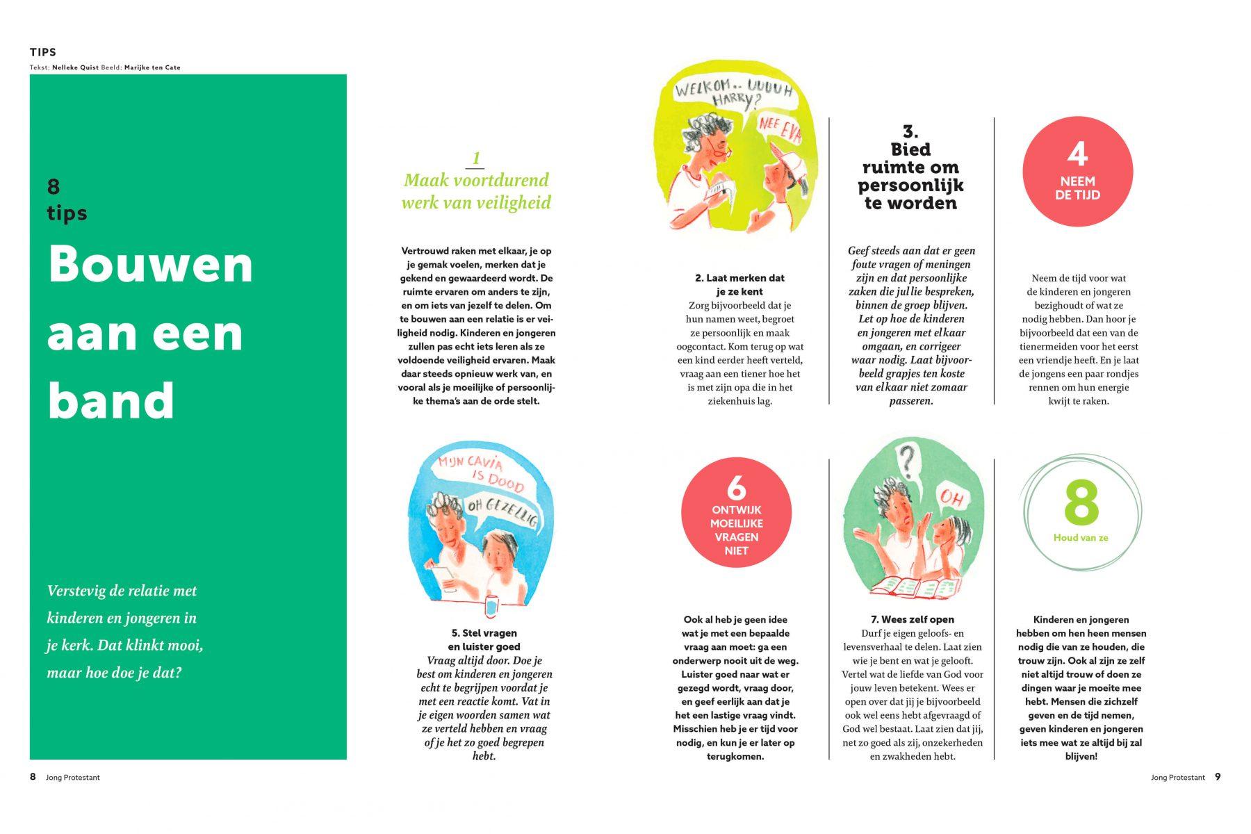 JOP redactionele illustraties