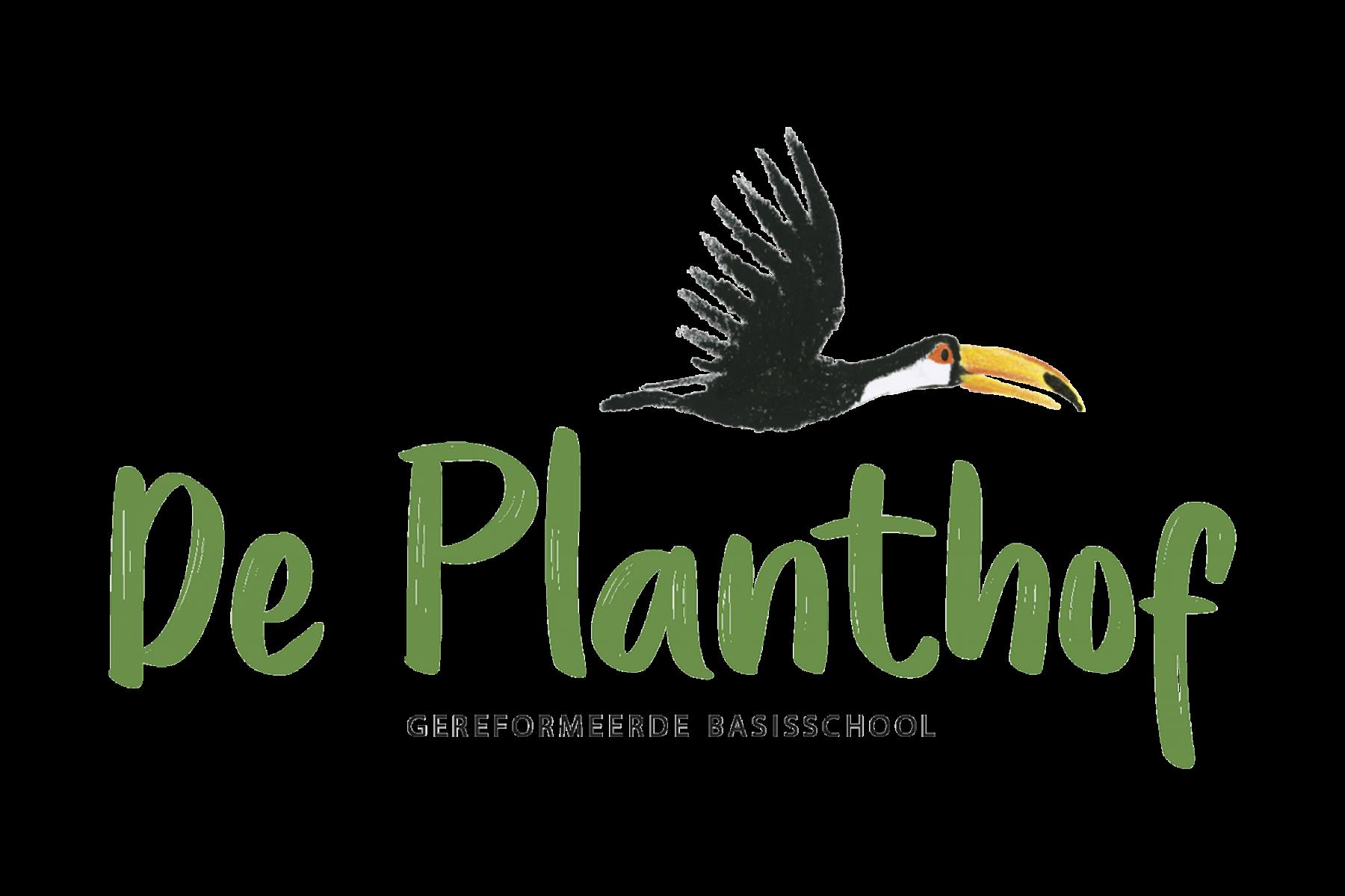 Logo voor basisschool De Planthof - 2018