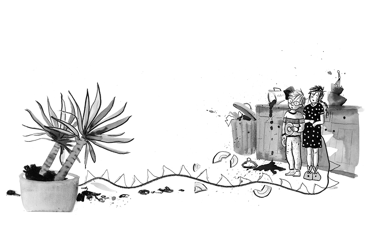 Kikkervisjes in de soep - plant